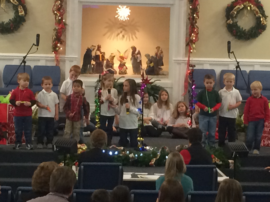 Kids Christmas Program - FBCLee